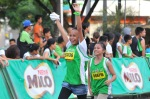Young marathoners finish the 5-K distance of the 37th National MILO Marathon in Tagbilaran.