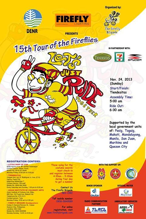Tour of the Fireflies