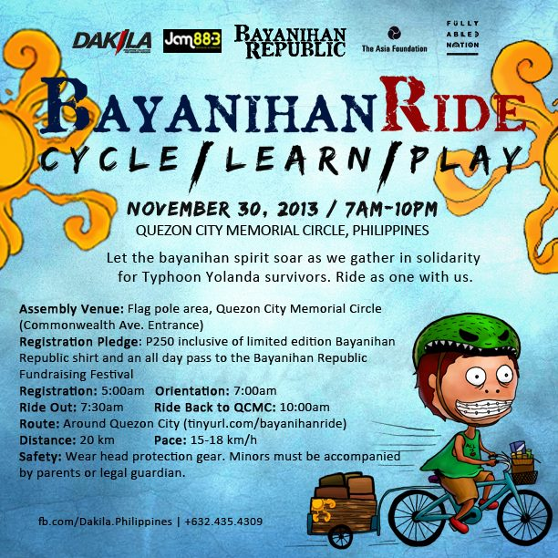 Bayanihan Ride Cycle - Learn - Play