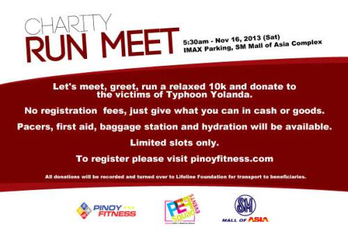 Charity Run Meet