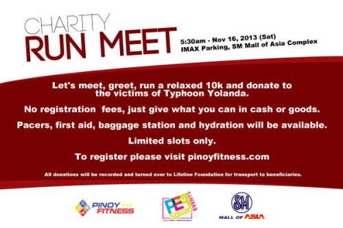 Charity Run Meet