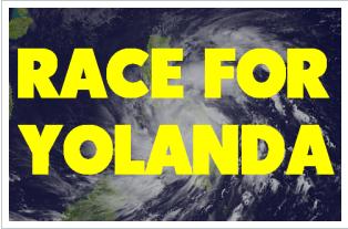 Race for Yolanda