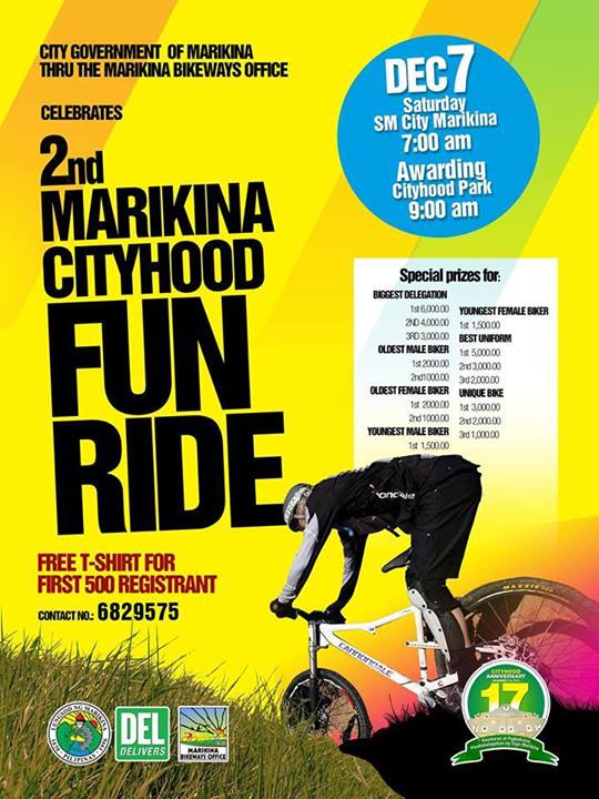 2nd Marikina Cityhood Fun Ride