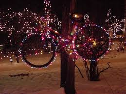 Merry Christmas on bike