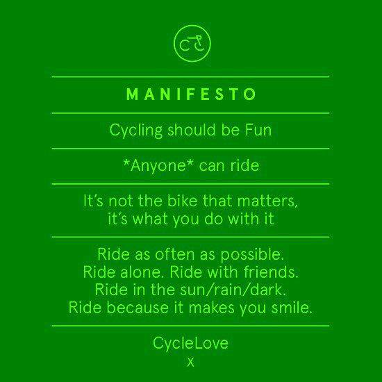 Cycling Manifesto