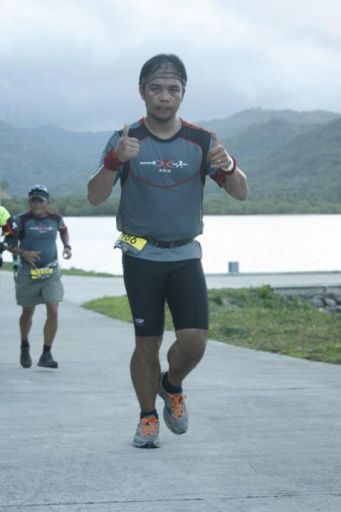 Paolo Mercado at Salomon Run