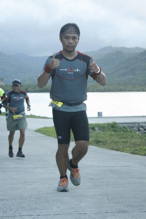 Paolo Mercado at Salomon Run