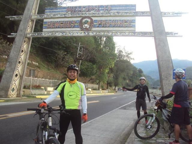 Paolomer at Baguio on Bike 5