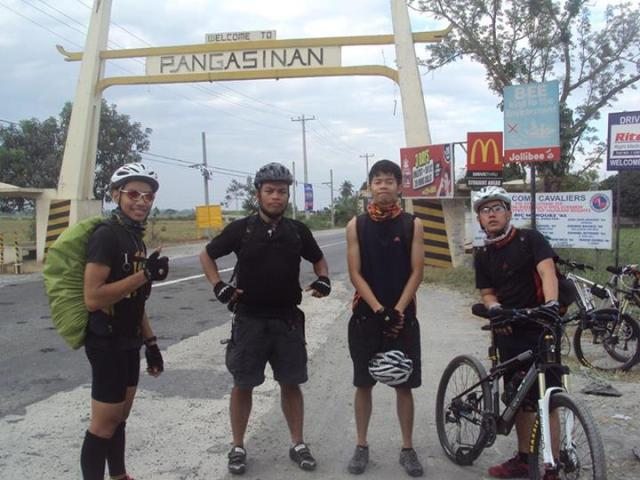 Paolomer at Baguio on Bike