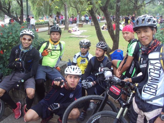 Team BMB in Baguio City