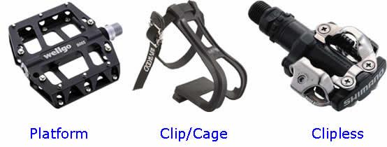 Kalongkong Hiker pedals