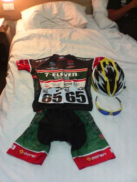 Kalongkong Hiker - Mark Julius Bordeos race kit