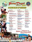 Kalongkong Hiker - Pista'y Dayat 2014 Schedule of Events