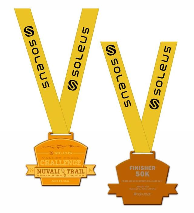 Kalongkong Hiker - Soleus Valley Trail Challenge 2014 Finishers Medal