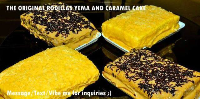 Kalongkong Hiker - The Original Rodillas Yema Cake Sample