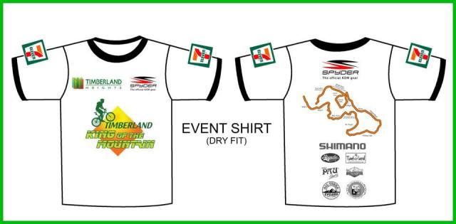 Kalongkong - Timberland King of the Mountain Event Shirt