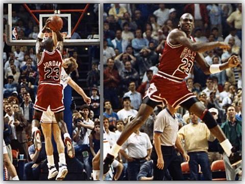 Michael Jordan - The Shot