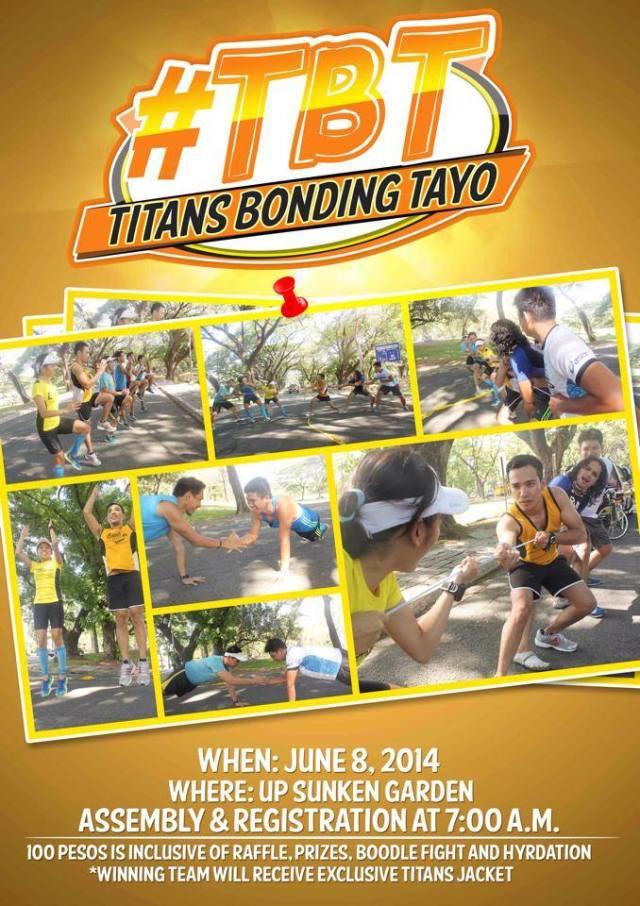 Kalongkong Hiker - Team Titans Sportsfest
