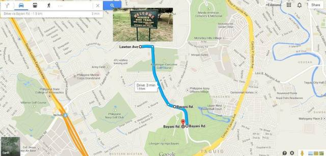 PMTB Bike Clinic Leg 1 Race Route - Kalongkong Hiker