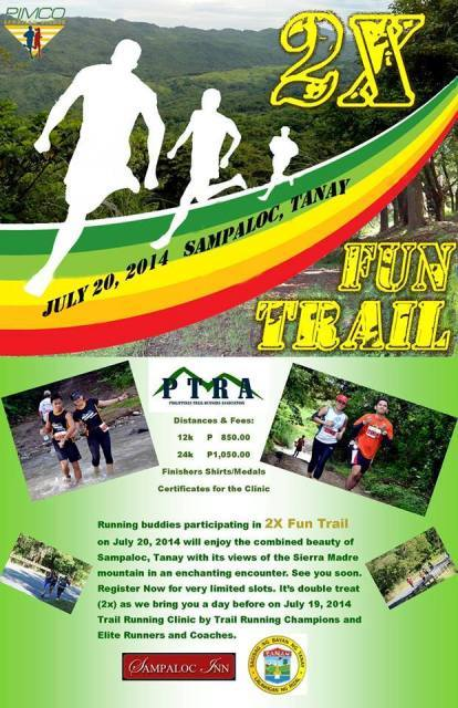 Kalongkong HIker - PIMCO 2X Fun Trail moved to August 10, 2014