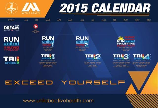 Kalongkong Hiker - Unilab 2015 Calendar
