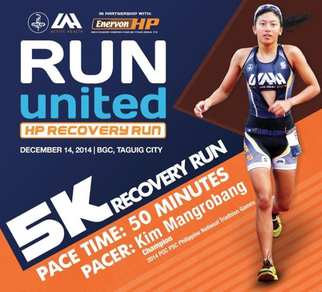Run United HP Recovery Run with Kim Mangrobang