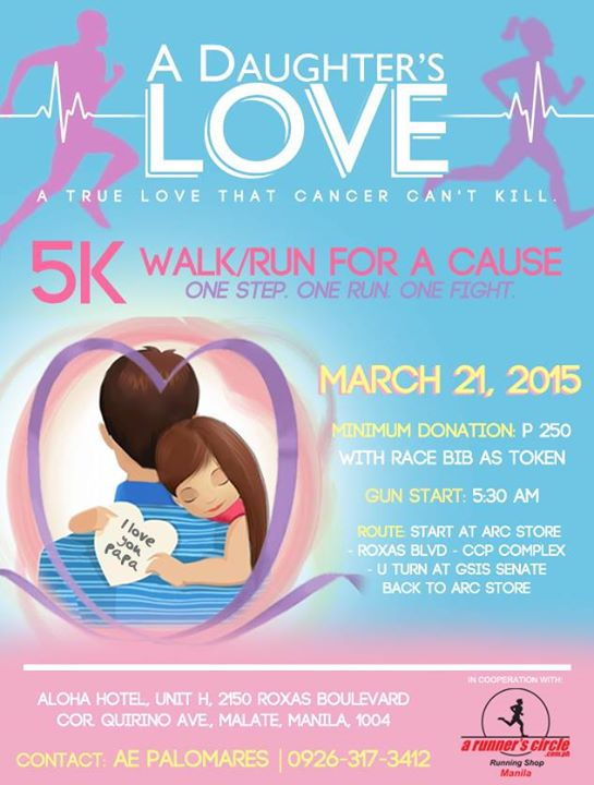 A Daughter's Love 5K Walk-Run For A Cause