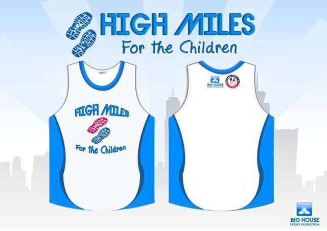 High Miles for the Children Singlet - Kalongkong Hiker