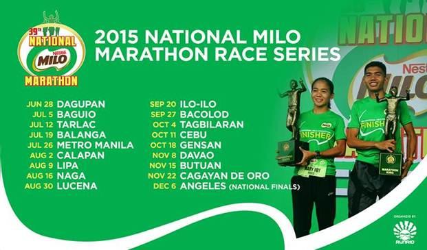 Kalongkong Hiker - MILO Marathon 2015 Race Calendar