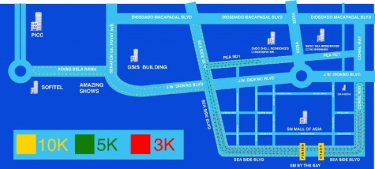 World Of DC All Star Fun Run Race Map - Kalongkong Hiker