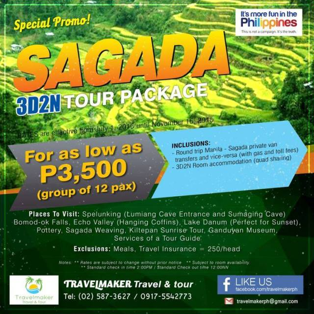 Sagada 3D2N Travelmaker Tours and Travel PH - Kalongkong Hiker