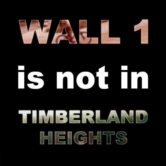 Wall 1 is not in Timberland Heights - Kalongkong Hiker