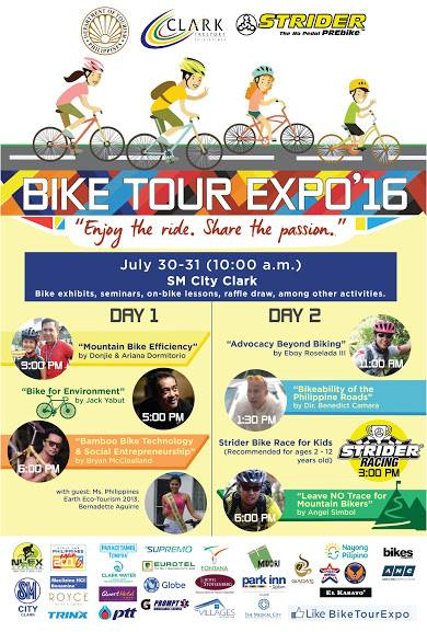 Kalongkong Hiker - Bike Tour Expo 2016 Clark Pampanga Activities